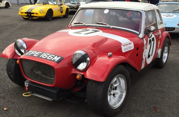 MG Midget and Austin Healey Sprite Arkley one piece front end. Available in race weight or road weight construction.