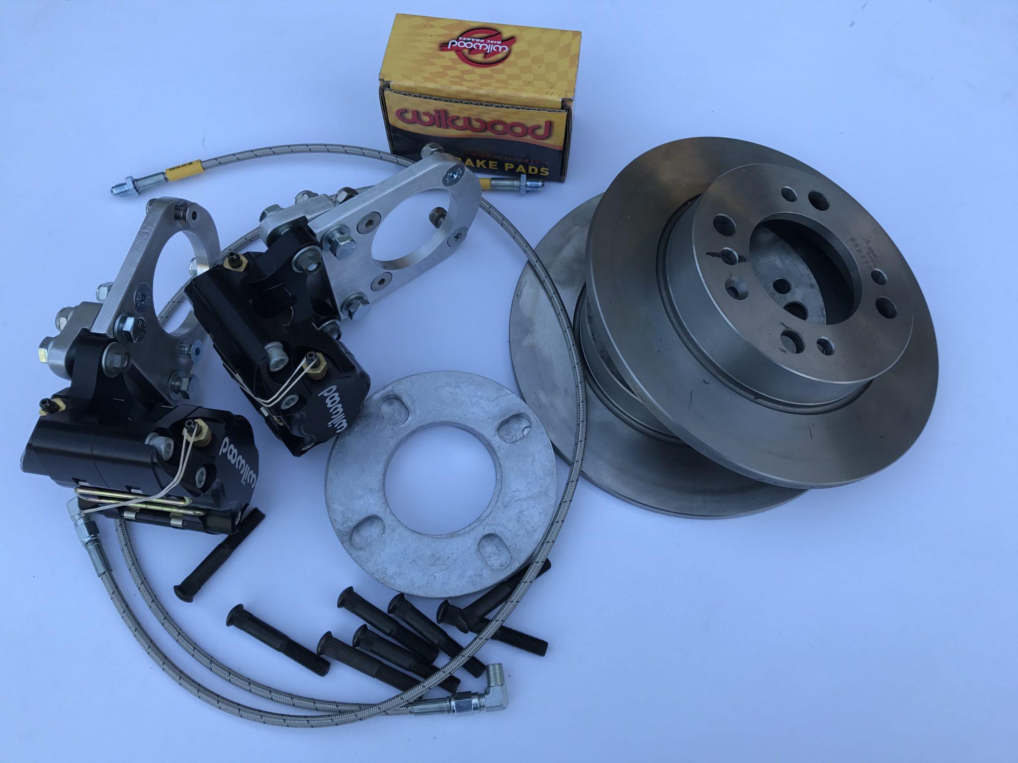 Midget and Sprite rear brake disc conversion kit