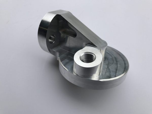 Spin on oil filter housing for MG Midget and Austin Healey Sprite