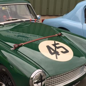 MG Midget and Austin Healey Sprite fibreglass bonnet