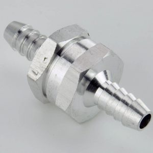 In-Line one-way fuel valve
