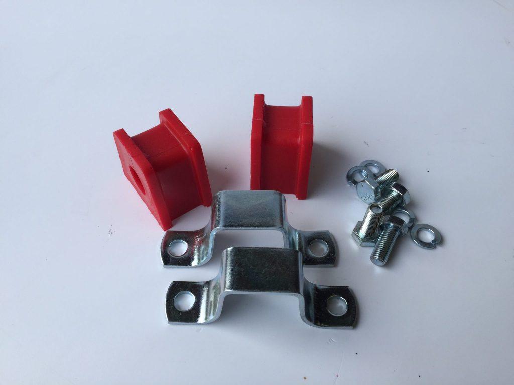 MG Midget and Austin Healey Sprite front anti-roll bar Poly bush block kit