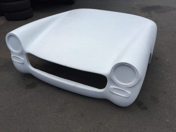 MG Midget one piece fibreglass front