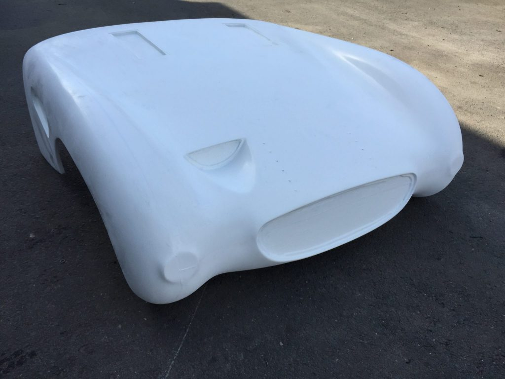 The PME Frogeye Special one piece front offers a more aerodynamic version of the standard MK1 Frogeye/Bugeye sprite bonnet.