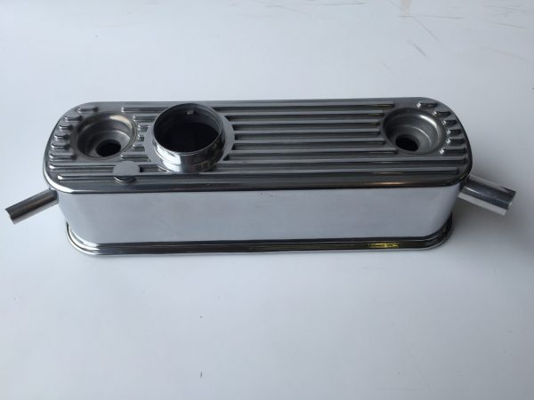 MG Midget and Austin Healey Sprite alloy rocker cover with breathers
