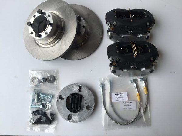 "MG Midget and Austin Healey Sprite 9"" front brake conversion kit."