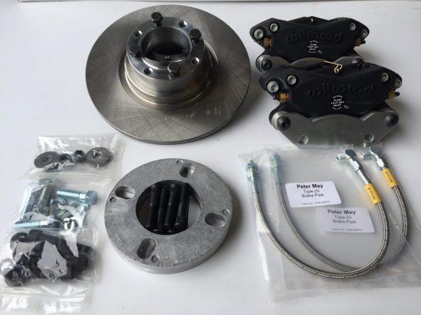 9.5 inch big brake kit for Sprite and Midget