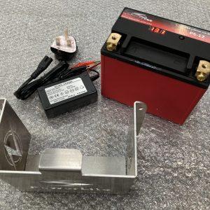 Lithium Ion lightweight performance battery