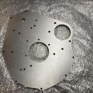 MGB 3 Syncro aluminium engine backplate