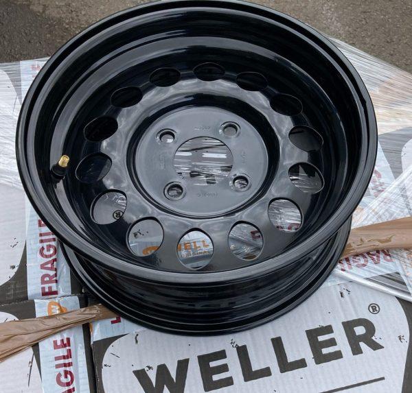 Midget Weller Steel Competition Wheel 5Jx13 - Black